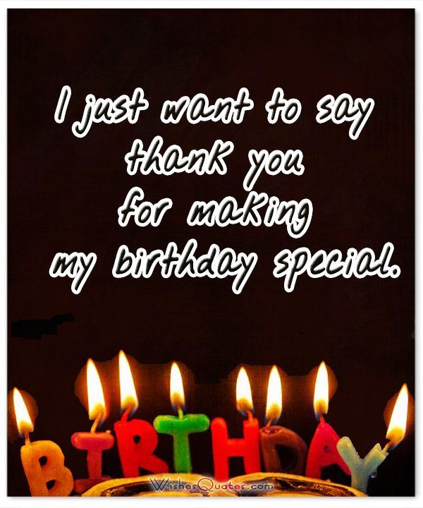 Thanks For Happy Birthday Wishes Quotes: Thank You Messages After Surprise Birthday Party