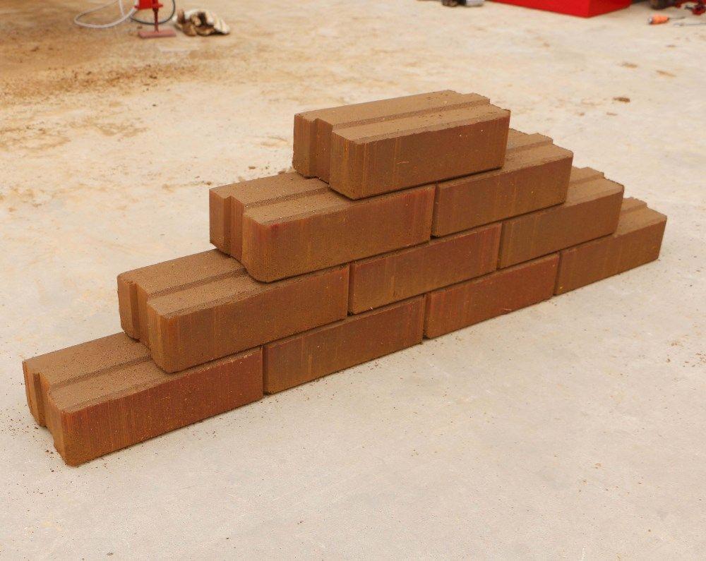 Soil Earth Hydraform Interlocking Block For Low Cost House Interlocking Bricks Interlocking Blocks Red Clay Bricks