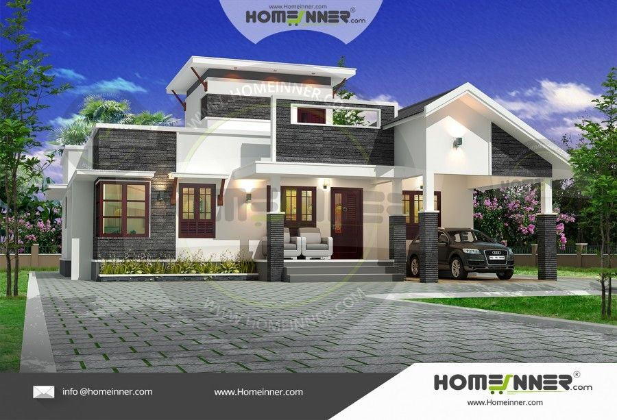 1400 Sq Ft 3bhk Single Floor House Plan Free House Plans Home