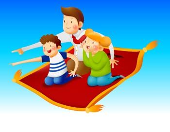 Image result for clipart the magic carpet