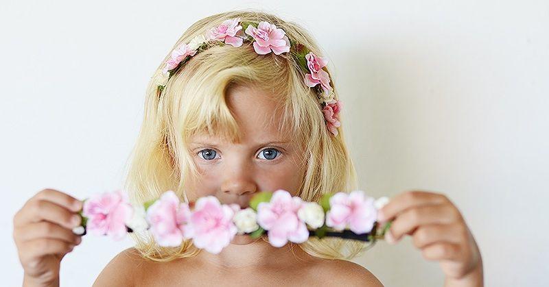 Nuestra nueva colecci n de diademas coronitas de flores for Hacer diademas nina