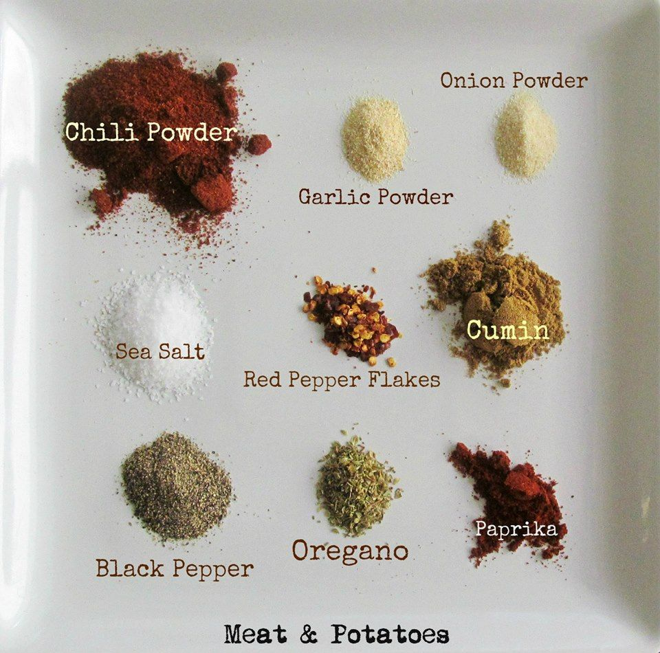 Add 1/4cp cornstarch . . . COPYCAT ORTEGA TACO SEASONING 1 tablespoon chili… #maketacoseasoning