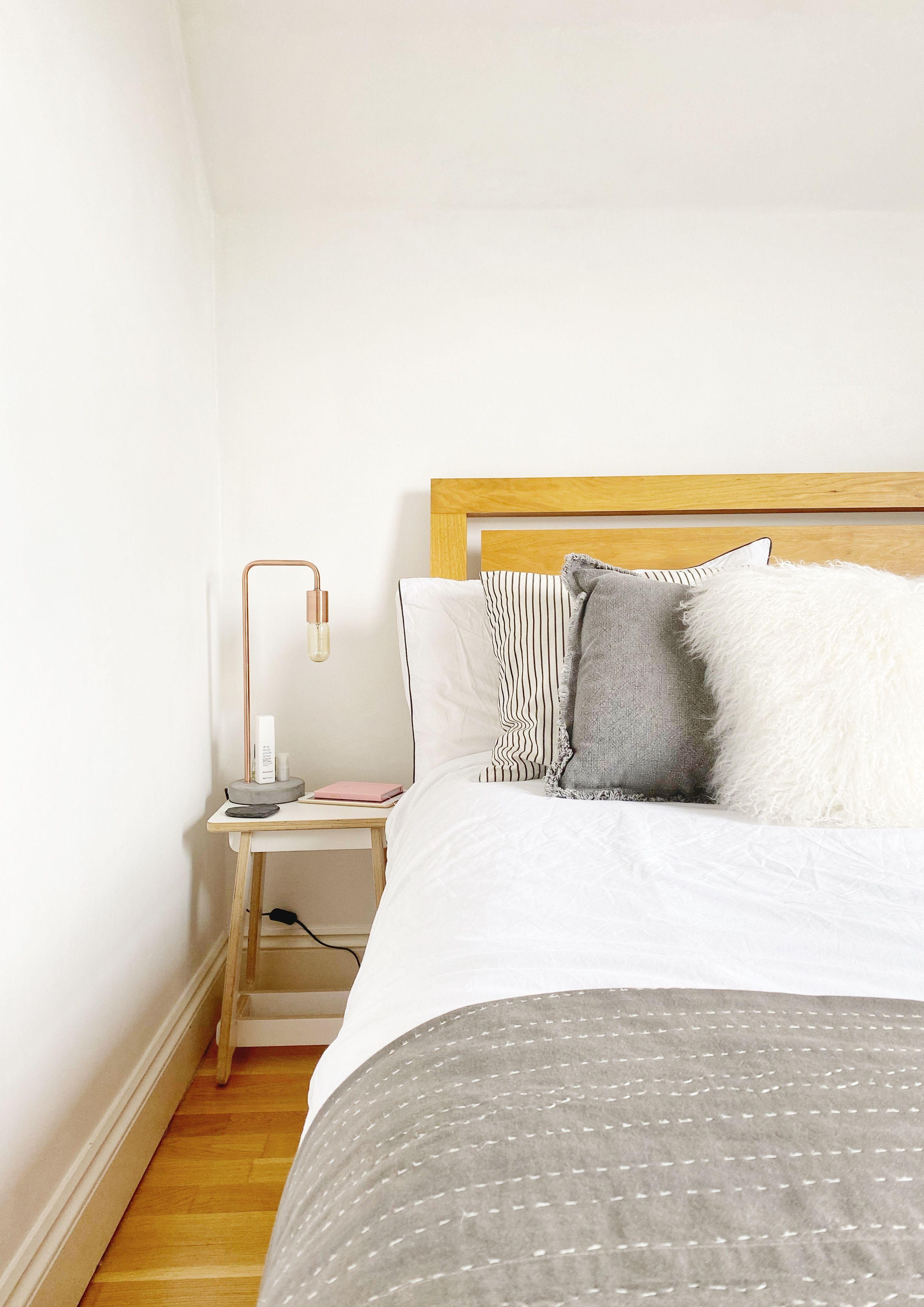 Nothing better than fresh bed sheets! ✨ 🛌 . . . . . #interiors #interiordesigns #londoninteriordesigner #instahome #bedroominspo #interior_and_living #primeinteriors
