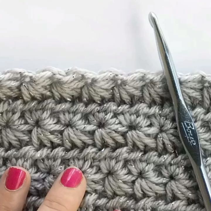 Star Stitch Tutorial - Crochet #crochetstitches