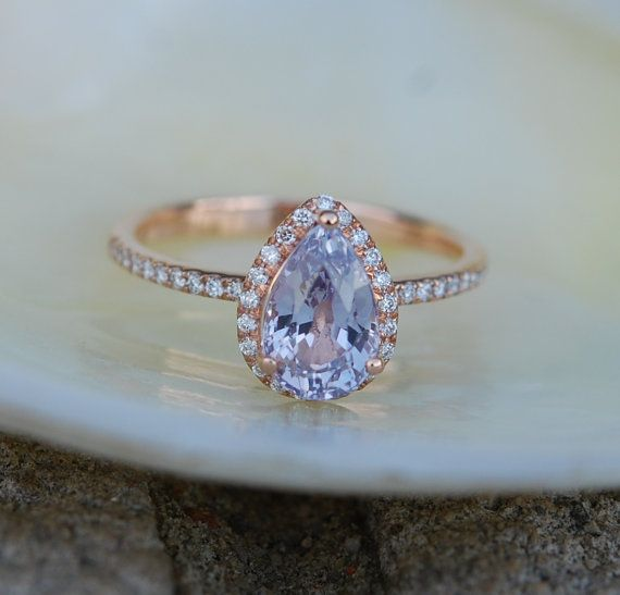 custom womens band sapphire lavender side engagement wedding rings