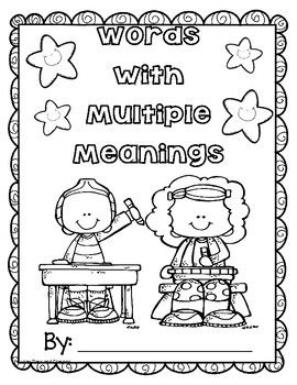 DISTANCE LEARNING / HOMESCHOOLING WORDS with MULTIPLE