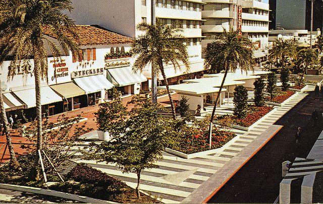 Lincoln Road Mall Miami Beach Fl Miami Beach Miami And