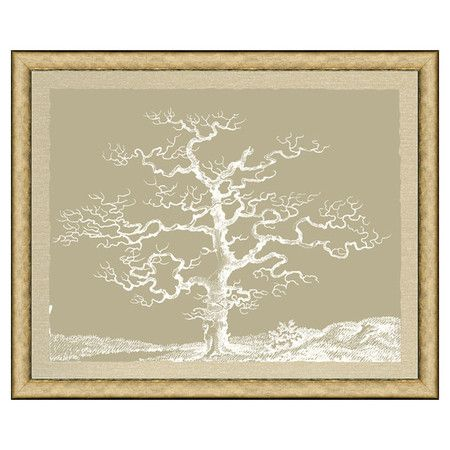 I pinned this Tree I Framed Print from the Vintage Print event at Joss and Main!