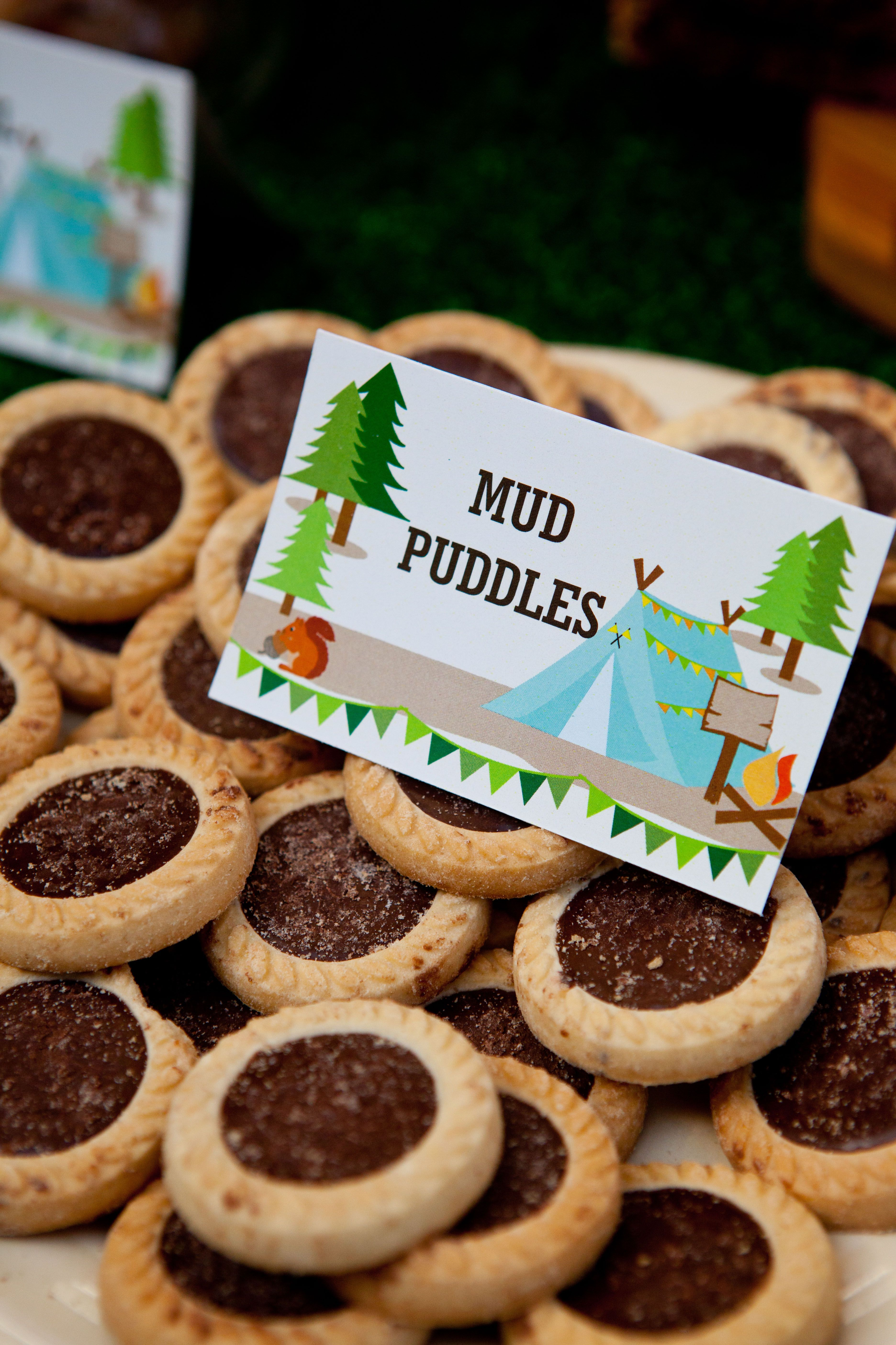 Mud Puddles Camping Party Food Ideas 3744x