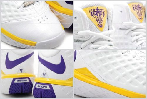 Nike Zoom Kobe III SL LA Lakers MVP PE