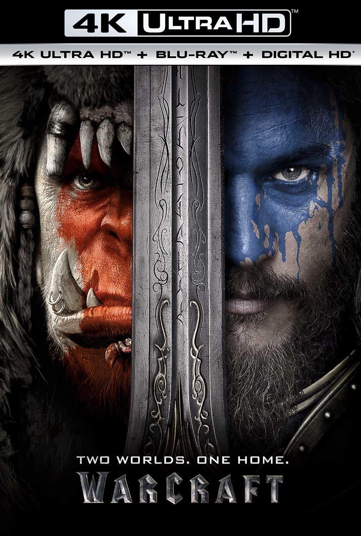 Warcraft 4k Ultra Hd Blu Ray Digital Hd Https Www Amazon