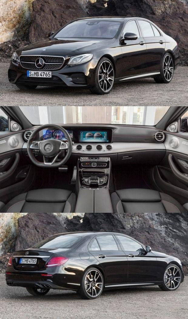 Mercedes Unveils The E Class Amg E43 4matic Sedan Mercedes Benz
