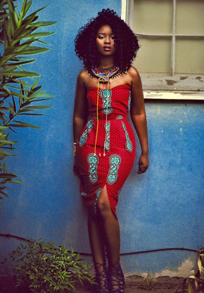 Miriam Red Dress | Red dress, Dresses, African print