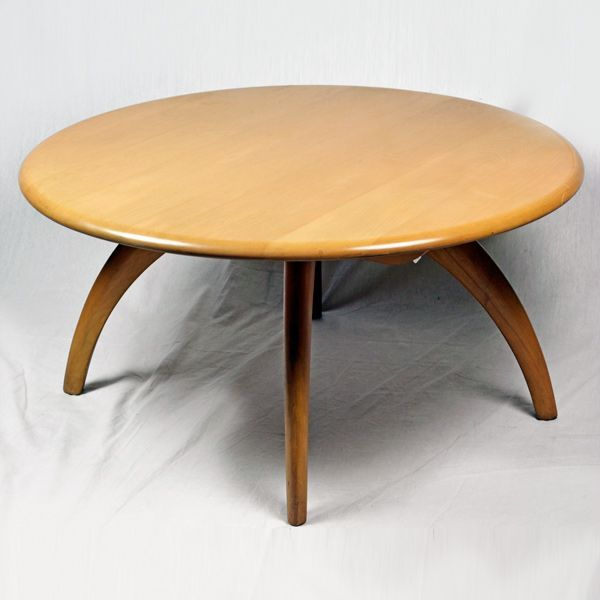 Heywood Wakefield lazy susan coffee table i have and i love