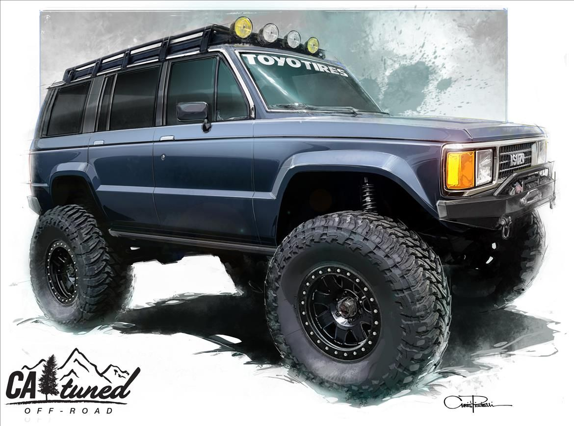 Project 1988 Isuzu Trooper Build Sema 2018 Catuned Off Road