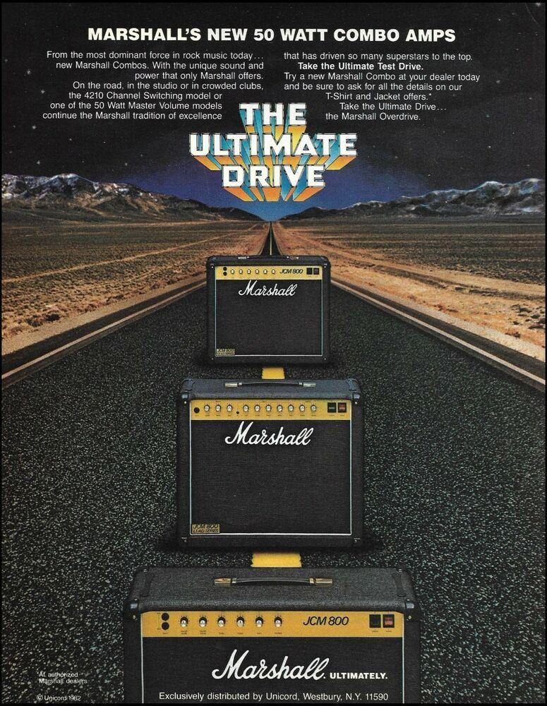 Jim Marshall amplifiers Signed Tee W/ Guitar Magazine
