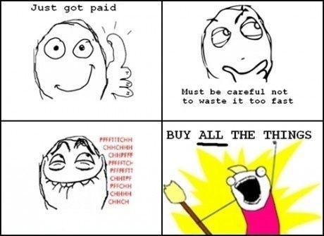 Penge, s ** t er ikke reel. Bare bruge det!