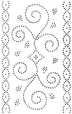 Modest image in printable tin punch patterns free