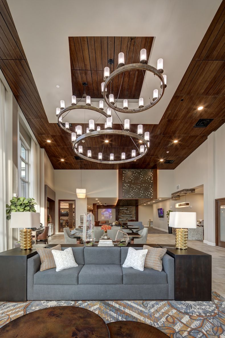 A Trend Is Defined As A State Of Fashion Or The General Direction In Which Something I Senior Living Design Senior Living Interior Design Assisted Living Decor