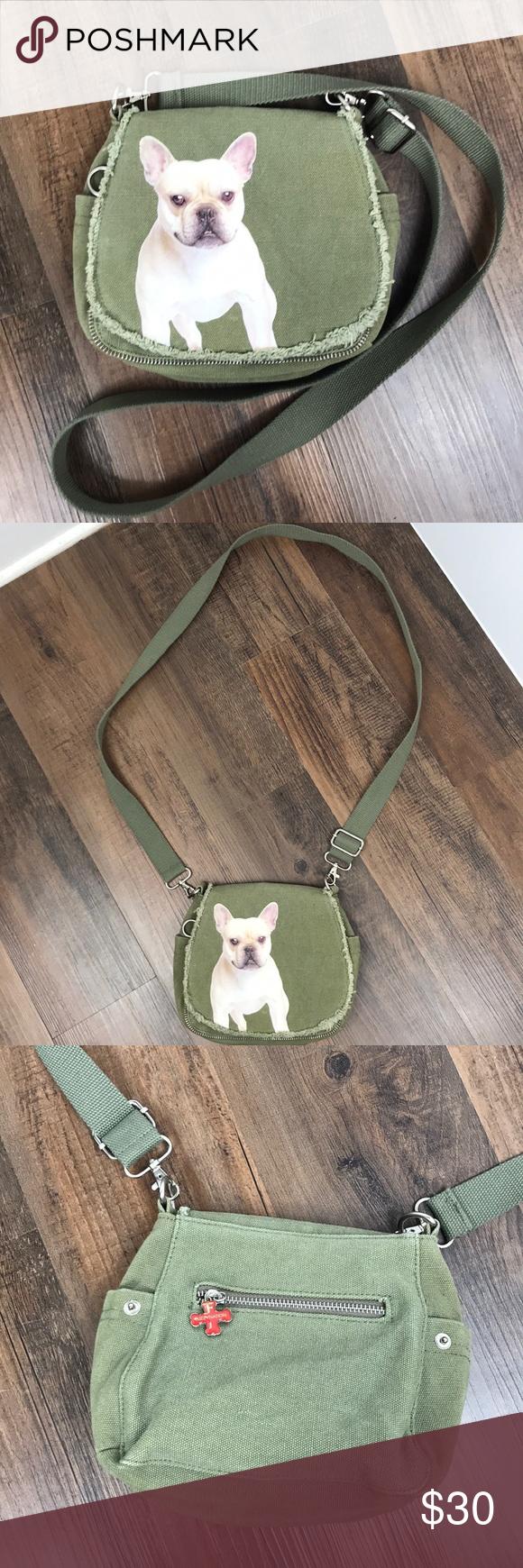 Fuzzy Nation French Bulldog Crossbody Bag Crossbody bag