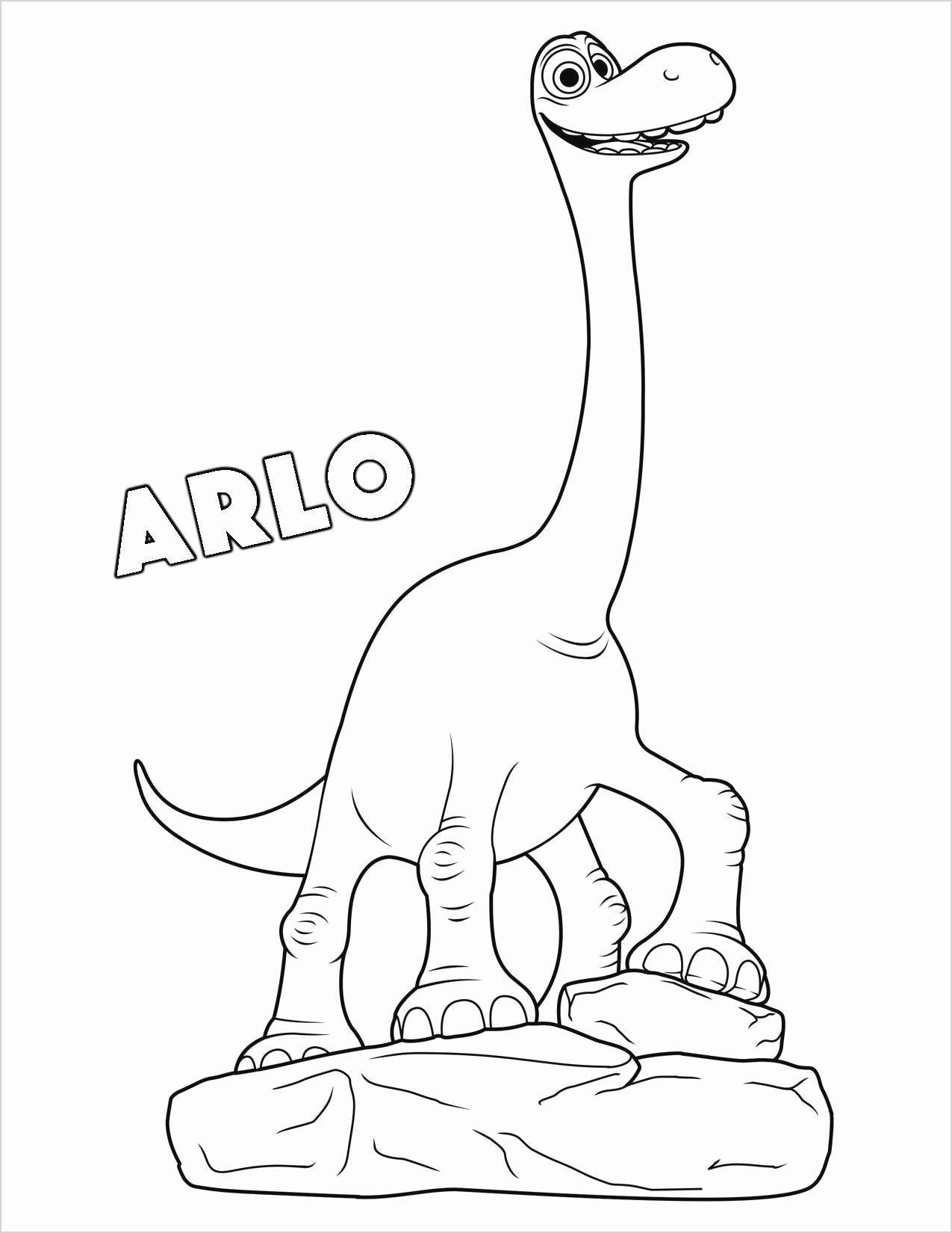 Easter Dinosaur Coloring Pages Concept