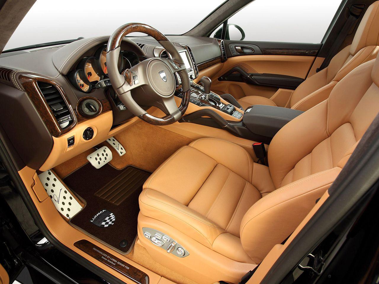 2012 lumma design porsche cayenne turbo interior design