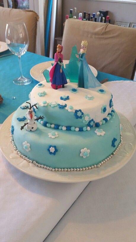 G teau reine des neiges anniversaire g teau reine des - Barbie princesse des neiges ...