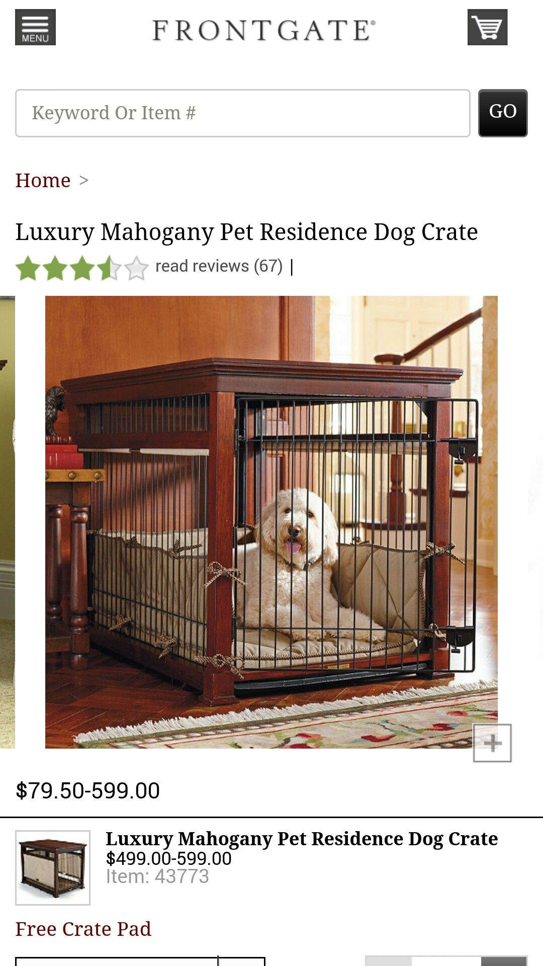 Pin By Jennifer Bedsole On Pets Dog Crate Pets Frontgate