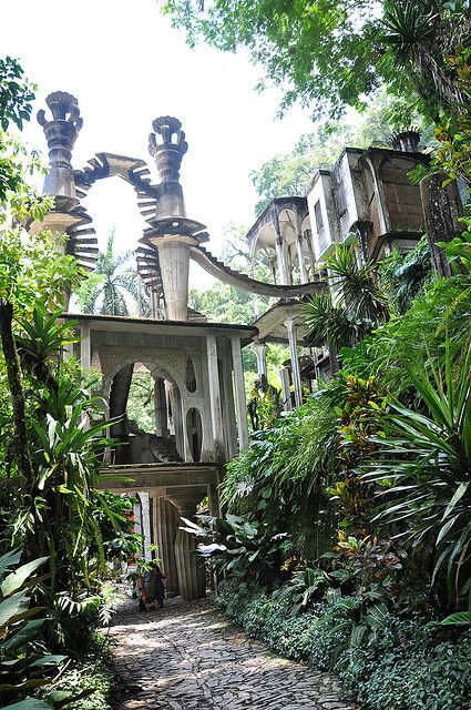 Entrance to Sir Edward James\' Gardens | ✈ Mexico. | Pinterest ...
