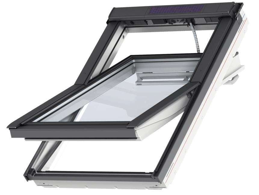 Velux 30 3 4 X 38 1 2 Center Pivot Window Ggu Mk04 Velux Center Pivot Window Ggu Mk04 Solarskylights Com Center In 2020 Dachausstieg Dachfenster Rollladen