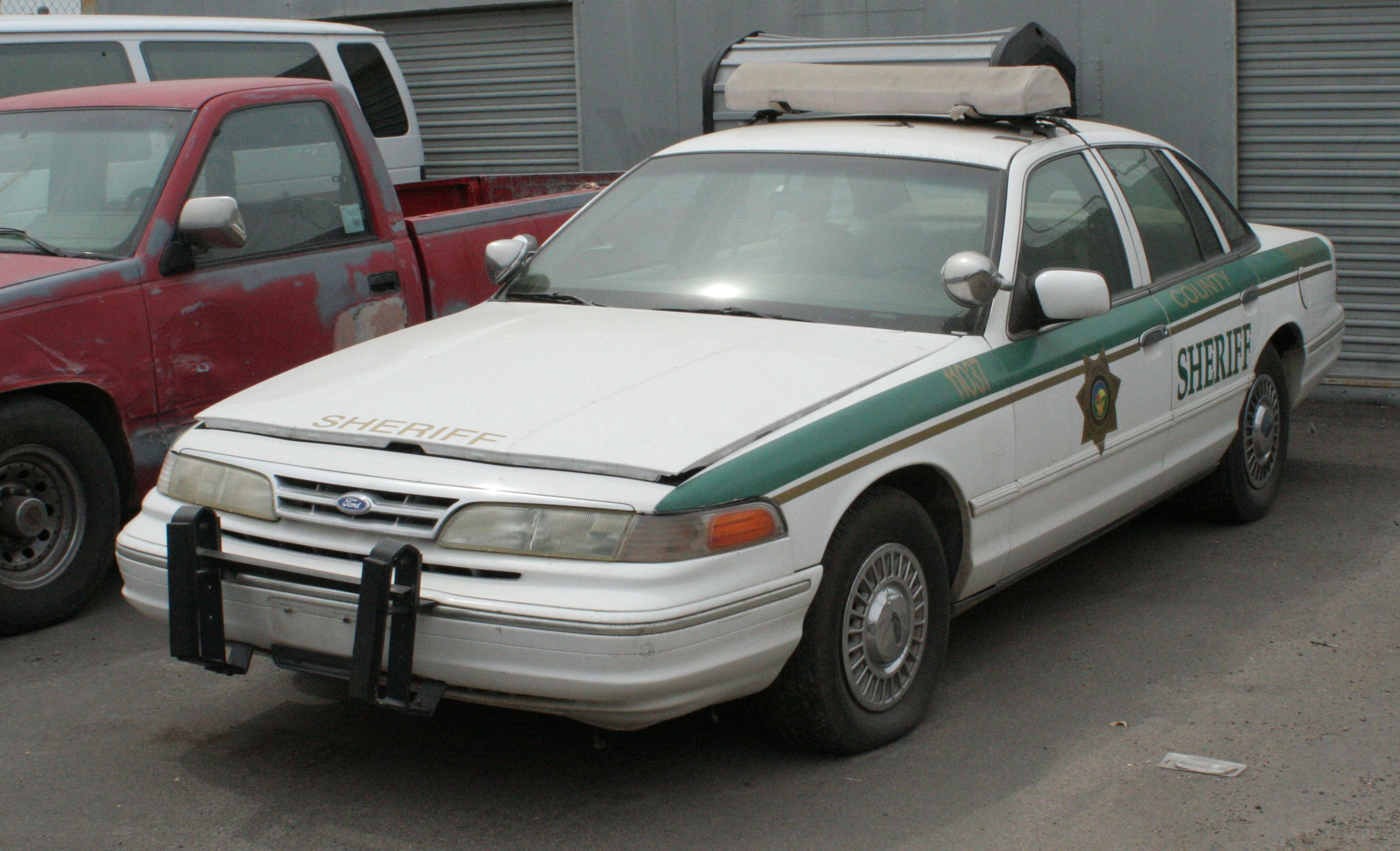 Sheriff S Car From Jericho Tv Series Victoria Police