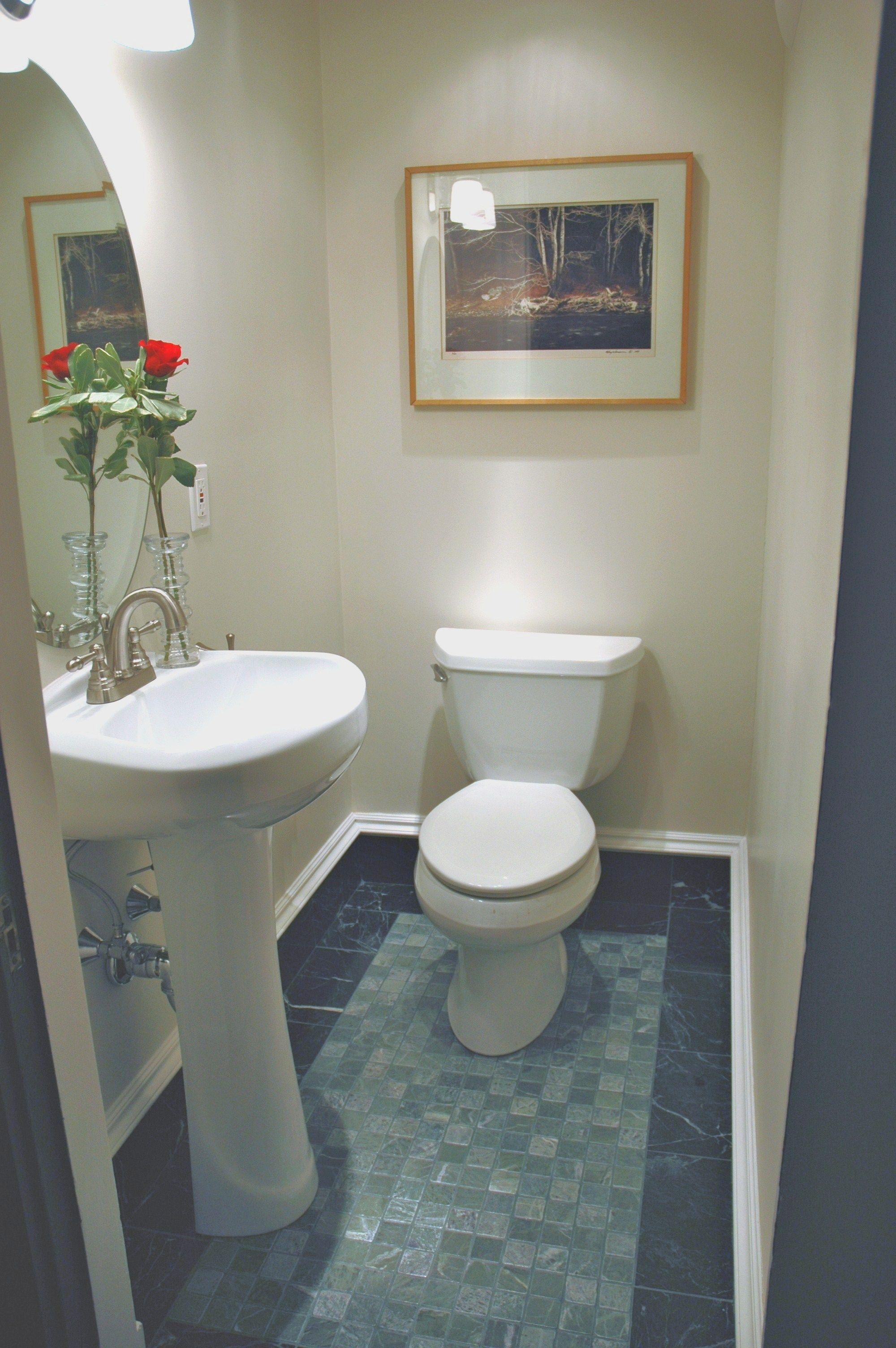 Long term goal. Build new 1/2 bathroom upstairs. Keri will LOVE this ...