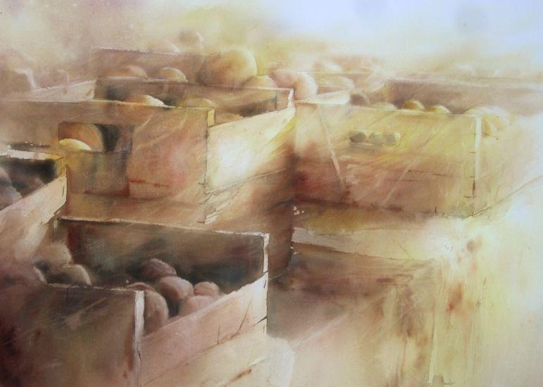 David Chauvin Artiste Peintre Aquarelle Rocheserviere Vendee