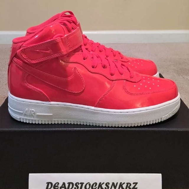 Nike Air Force 1 Mid 07 Lv8 Uv Siren Red Boutique Nike Men