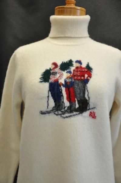 eBay winvintage ralph lauren holiday ski sweater