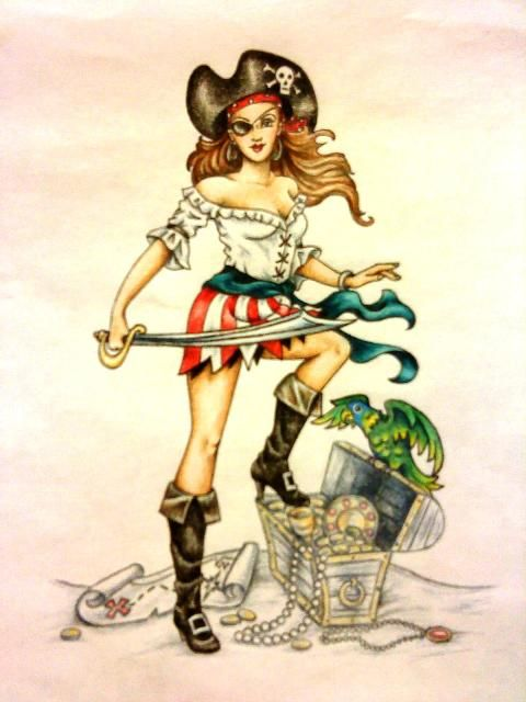 pin up pirate
