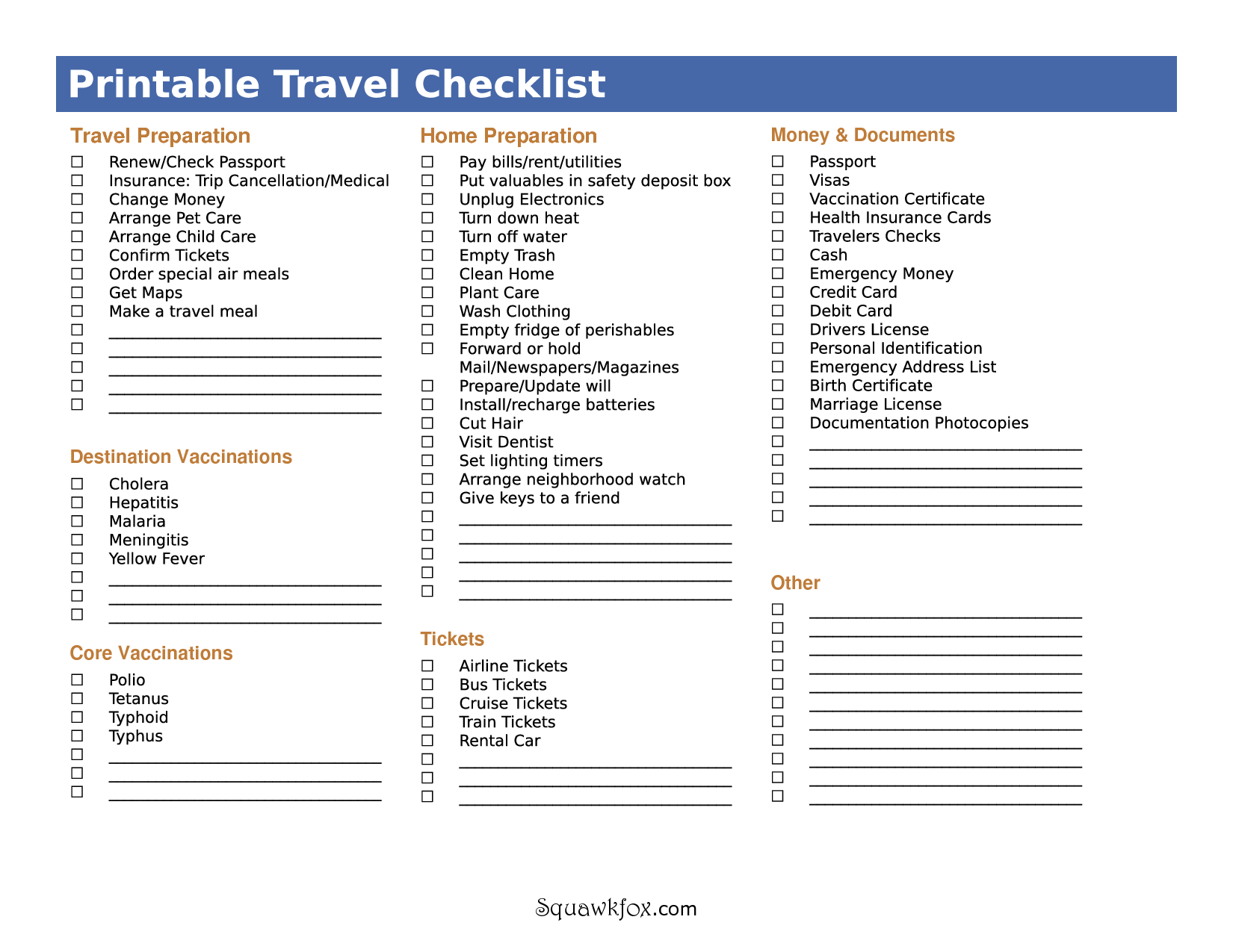 ItS Not Just What To Pack But What To Do Before You Travel