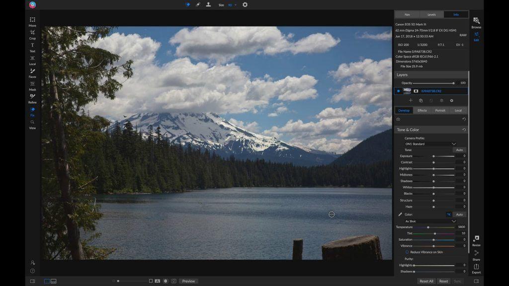 Using The Retouching Tools Retouching Photo Use Case
