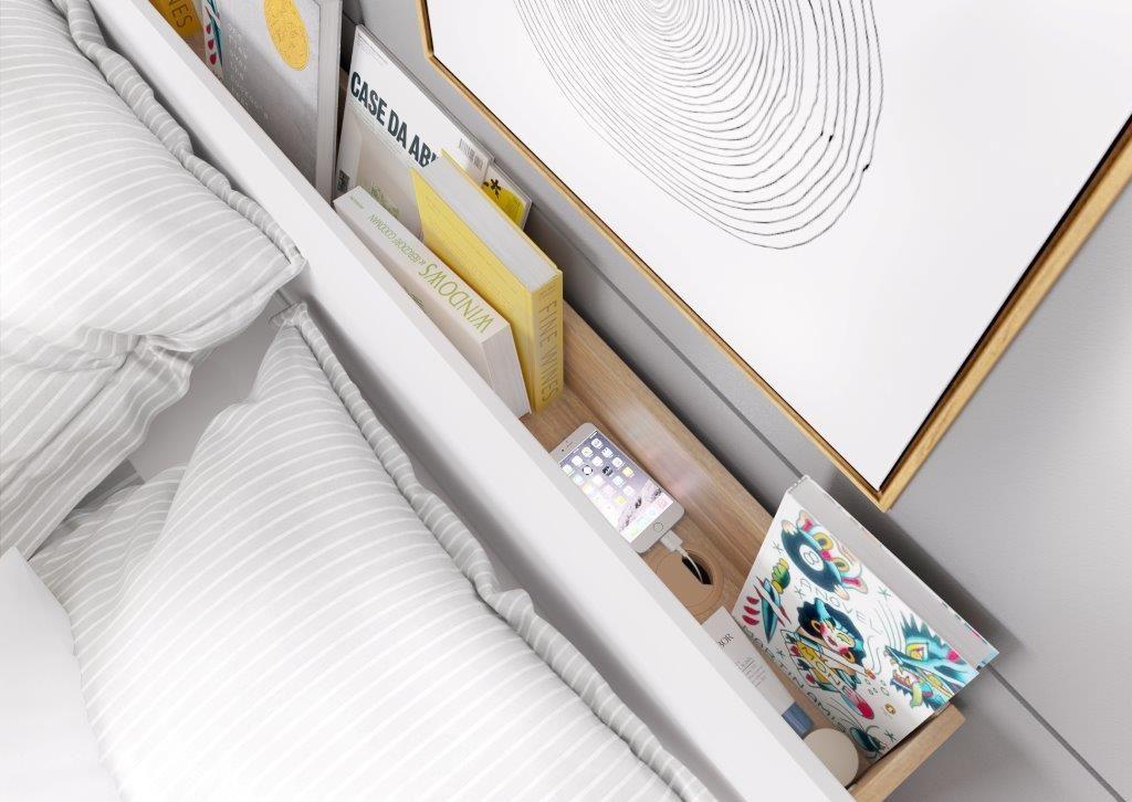 Sprytna Półka W Zagłówku łóżka Znakomity Pomysł Zwłaszcza