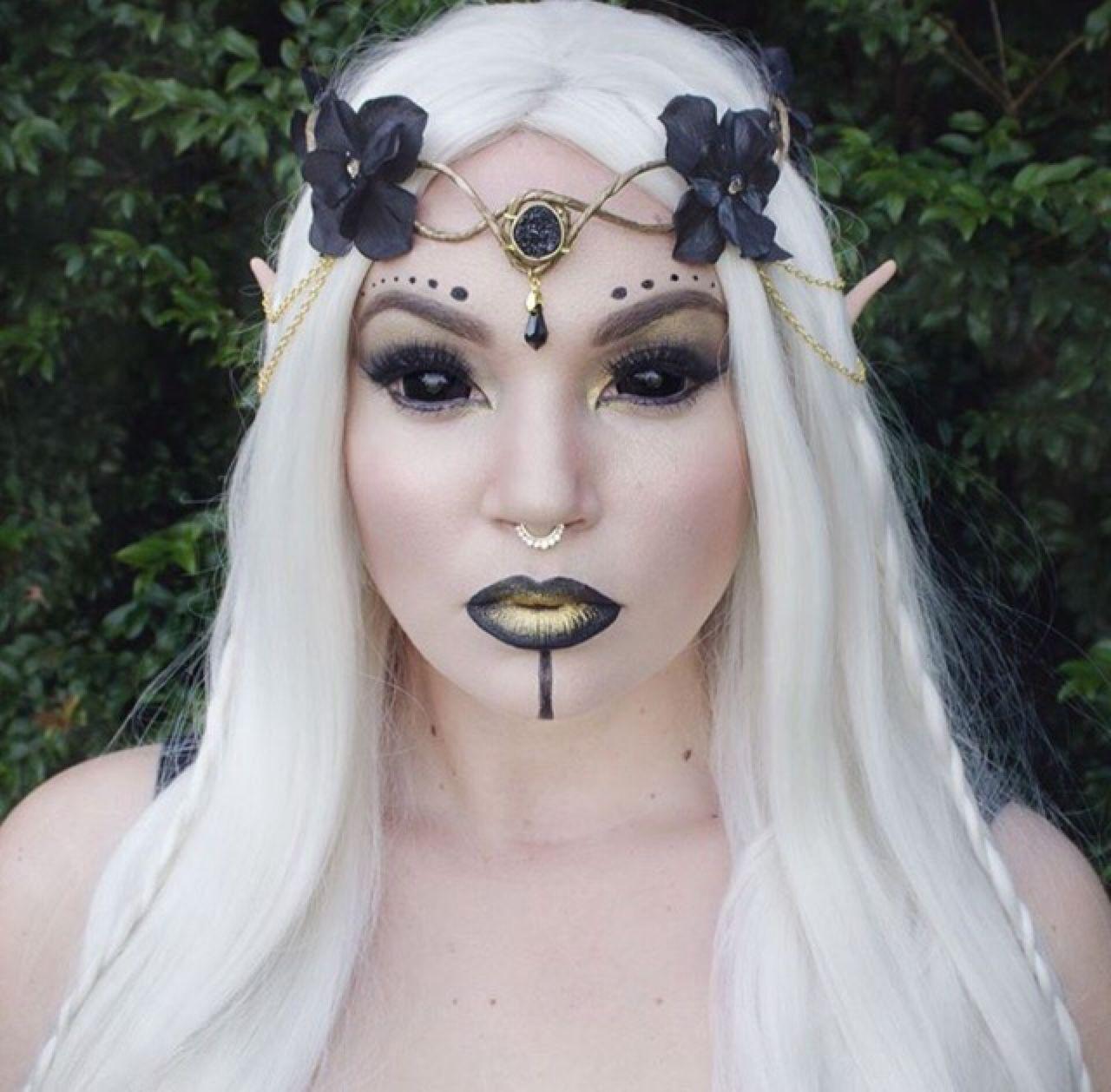 Halloween Makeup Dark fairy makeup, Fairy makeup, Dark fairy