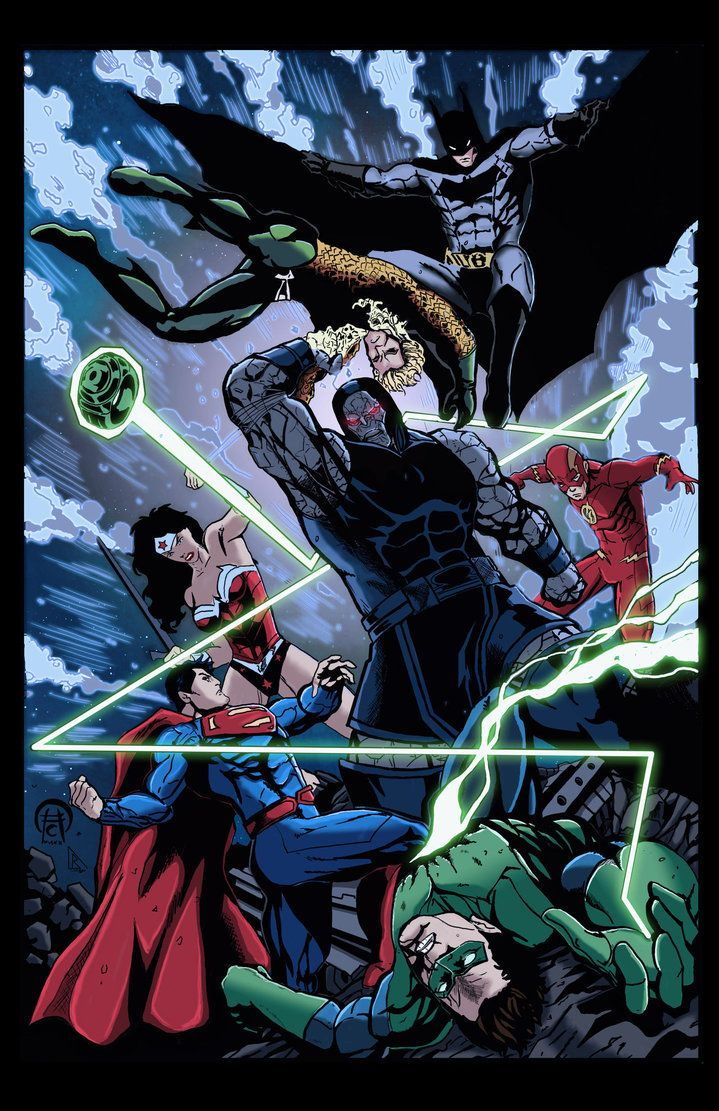 Justice League Colors Done By Bdixonarts On Deviantart Dc Comics Art Comic Book Heroes Justice League