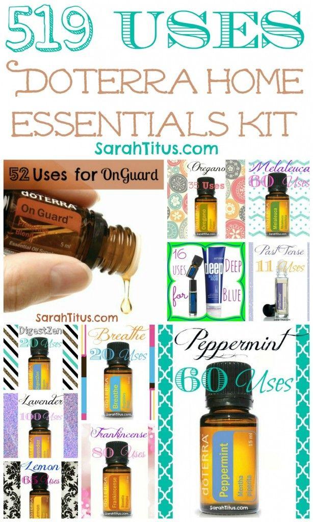 doterra home essentials kit pdf