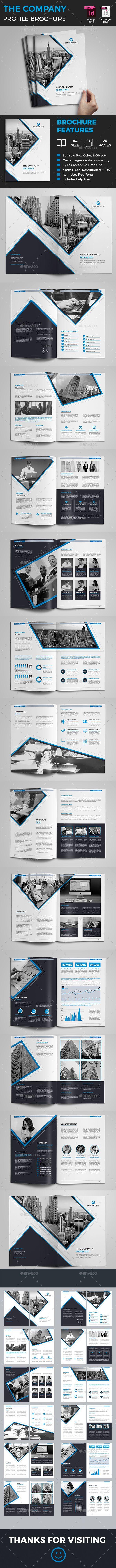 Company Profile | Diseño editorial, Editorial y Folders creativos