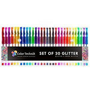 Crafting Journaling 100ct Gelwriter Premium Gel Pens with Stadium Stand
