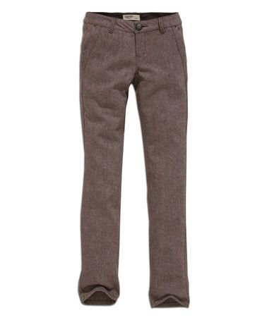 Another great find on #zulily! Chocolate Straight-Leg Pants by TIMEOUT #zulilyfinds