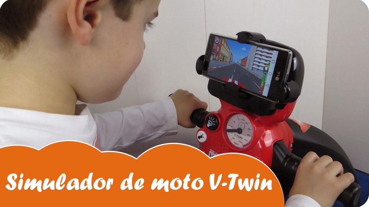 Moto V Juguete Twin Simulador Smoby Nabumbu De Biker Mundo uPwZXiOkT
