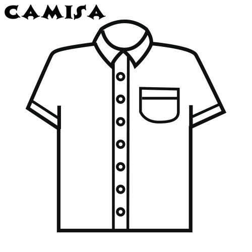 Dibujo Camisa Imagui Preschool Shirts Mom Coloring Pages Shirts