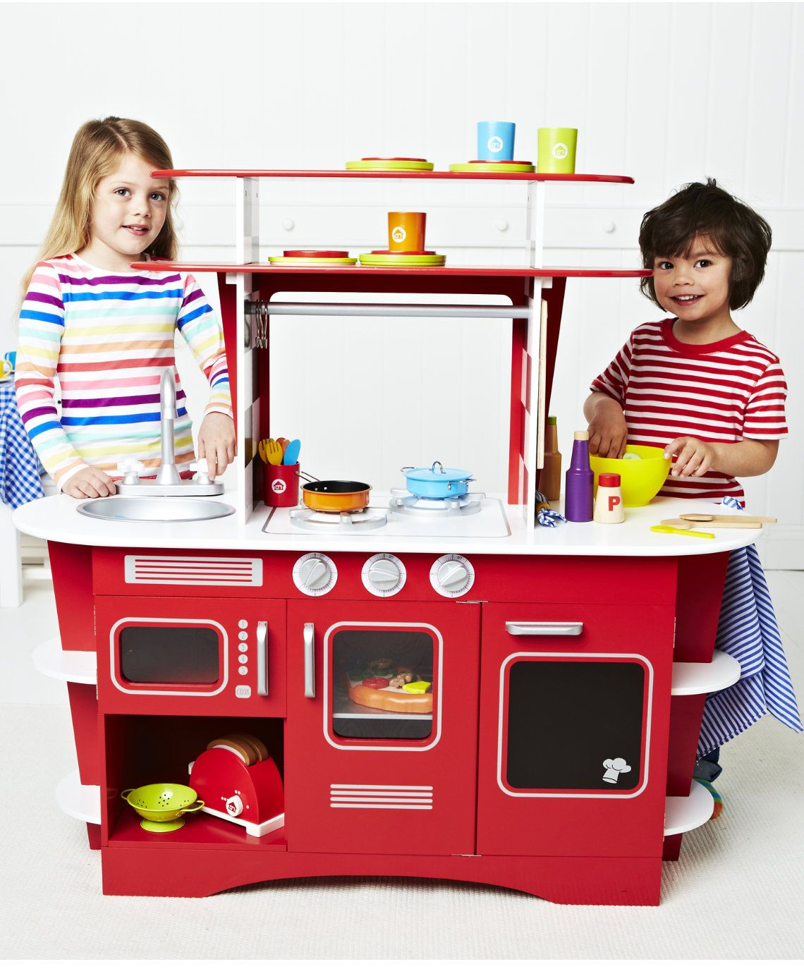 Wooden Diner Kitchen : Early Learning Centre UK Toy Shop ...