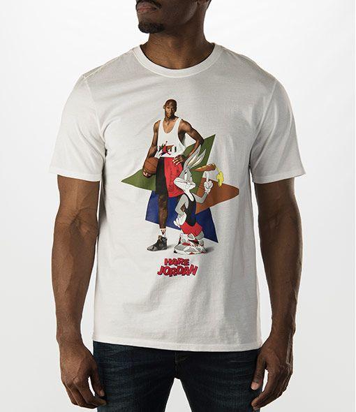 d84e8e2f5f98 Air Jordan Retro 7 WB Hare Poster T-Shirt