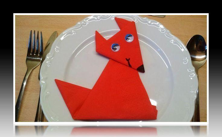 ? Servietten falten? - Machen Sie Fuchs Tier Tier Anweisungen mit Ki #Serv ... #serviettenfaltenweihnachten ? Servietten falten? - Machen Sie Fuchs Tier Tier Anweisungen mit Ki #Serv ..., #Anweisungen #falten #Fuchs #machen #mit #serv #servietten #Sie #Tier #serviettenfalteneinfach